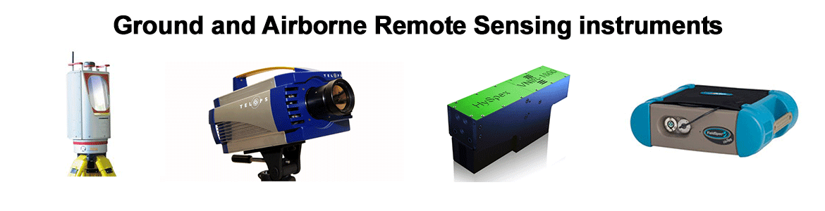 Ground and Airborne Remote Sensing